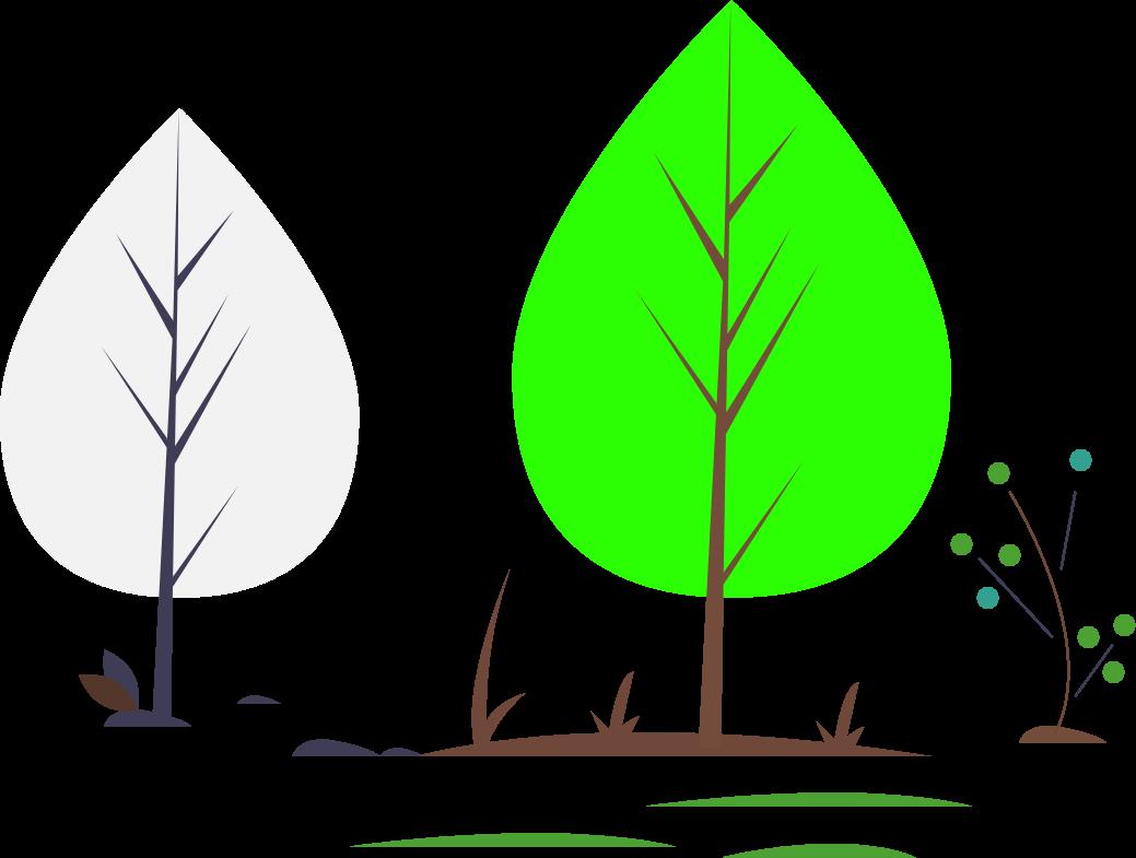 drevo ilustracija